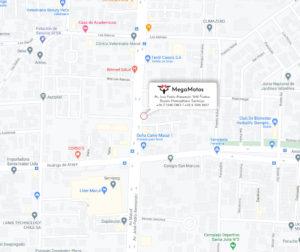 Mapa Ubicacion Mega Motos
